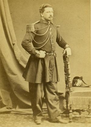 SsLt Francois Mosin 31 5 1859 Photo Prevot Paris